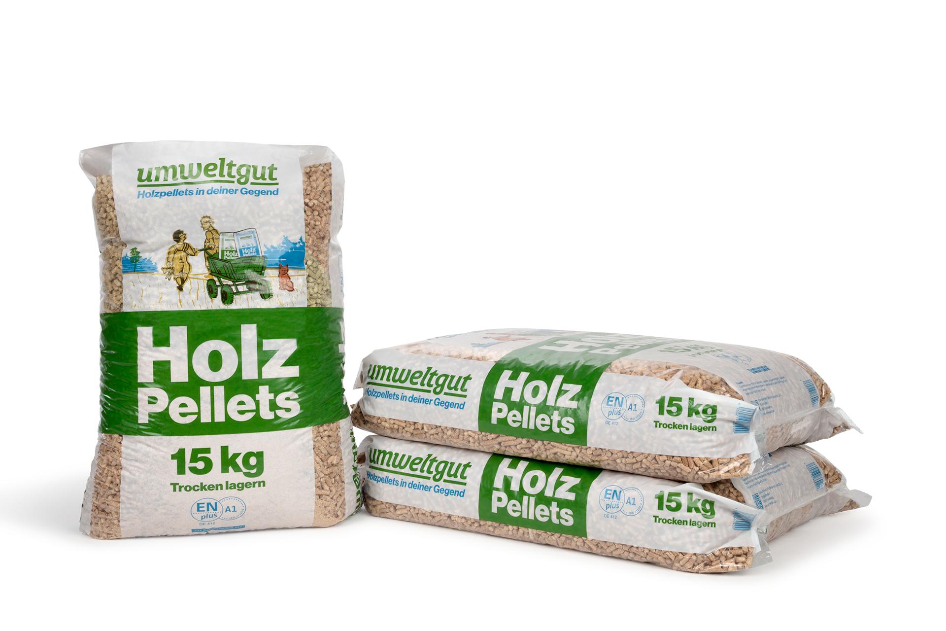 Holzpellets umweltgut ENplus-A1 Sackware